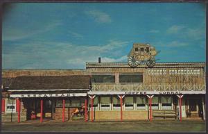 Golden Stagecoach Restaurant,Abilene,TX Postcard