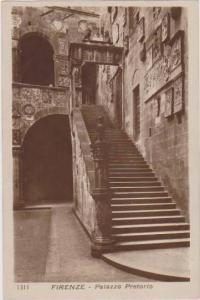 RP: Interior View of Palazzo Pretorio, Firenze, Toscana, Italy