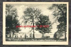 1221 - LAKE COUCHICHING Ontario 1930s The Campus at Geneva Park