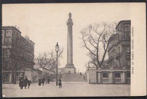 London Postcard - The Duke of York's Column, London   1861