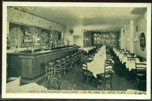 Larre's Restaurant & Cafe, NYC