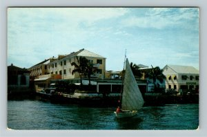 Nassau- Bahamas, Prince George Hotel, Advertising, Chrome Postcard