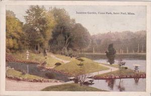 Minnesota Saint Paul Japanese Garden Como Park 1919
