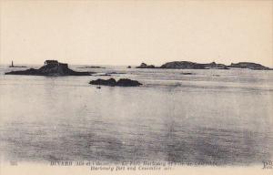 France Dinnard Le Fort Harbourg et I'lle de Cesembre
