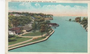 CLEVELAND , Ohio , 1910s ; Corinthian Yacht Club , Rocky River