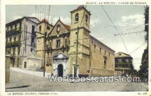 República de Panamá La Merced Church Panama City