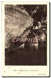 Old Postcard The Padirac river Piane