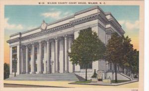 North Carolina Wilson County Court House