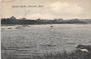 Massachusetts Falmouth View of  Quissett Harbor