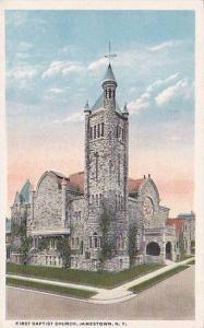New York Jamestown First Baptisit Church