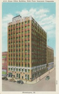 BLOOMINGTON, Illinois, 1930-40s ; Home Office Building, State Farm Insurance Co.