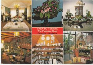 CASA DO TURISTA, The Famous Shop, Funchal Madeira, used Postcard