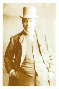 Postcard, William Hesketh Lever c1901, Founder of Port Sunlight, Photo Repro 13S