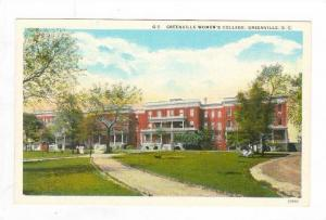 Women's College,Greenville,SC 1910-20s