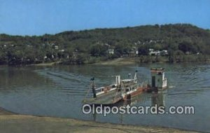 Ohio River Ferry Boat, Fly, Ohio, OH USA Ferry Ship Unused
