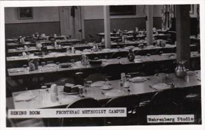 Minnesota Lake City Dining Room Frontenac Methodist Camps Real Photo