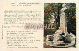 Postcard Old Lille Monument Desrousseaux Chanxon