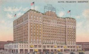 MEMPHIS , Tennessee , 1920 ; Hotel Peabody