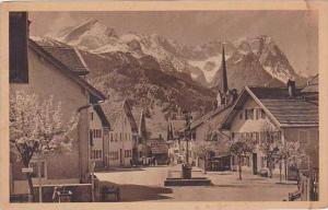 Germany Garmisch Partenkirchen Floriansplatz