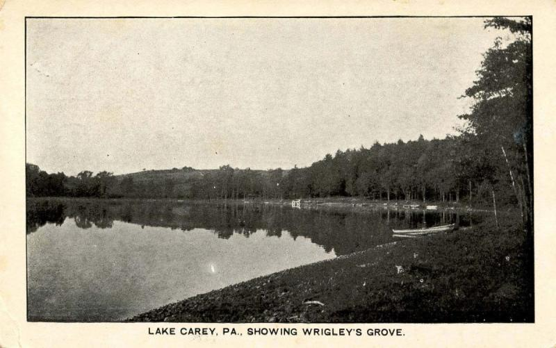 PA - Lake Carey. Wrigley's Grove