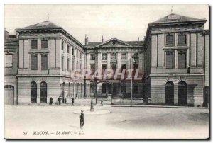 Postcard Old Macon Museum
