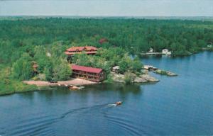 Wigwam Lodge and Cherokee Lakefront Motel, KILWORTHY, Ontario, Canada, 40-60's