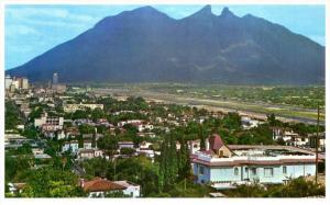 4845  Mexico Monterrey  1960's Panoramica Desde el Obispado