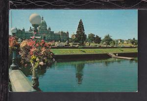Inner Harbour,Victoria,BC,Canada Postcard BIN