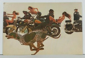 American Photographer Reid Miles Zoom Cover Cops Bikes Naked Women Postcard P16