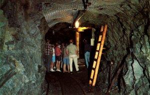 Canada - ON, Sudbury. Tour of Nickel Mine