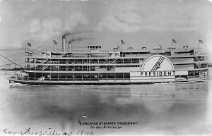 President Ferries & Paddle Wheels Ship 1940