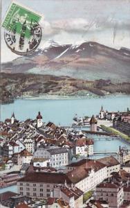 Switzerland Luzern und die Rigi 1910