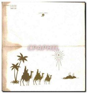Modern Postcard Camels