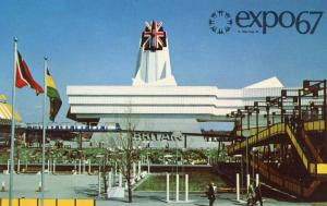 Canada - Quebec, Montreal. Expo 67. Pavilion of Great Britain