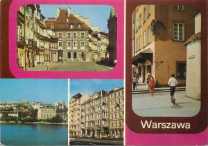 Eastern Europe Poland Warshaw multi view