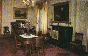 Indiana Indianapolis Dining Room Home Of Benjamin Harrison 23rd President