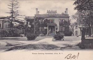 Roscoe Conkling Homestead Utica New York 1905
