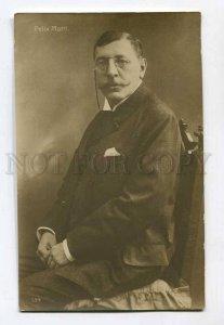 286604 Felix MOTTL Austrian conductor COMPOSER Vintage PHOTO