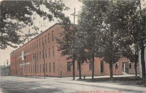 D42/ Bluffton Indiana In Postcard 1910 Red Cross Manufacturing Company Factory
