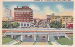 Texas Abilene Underpass and Pine Street Looking North Curteich