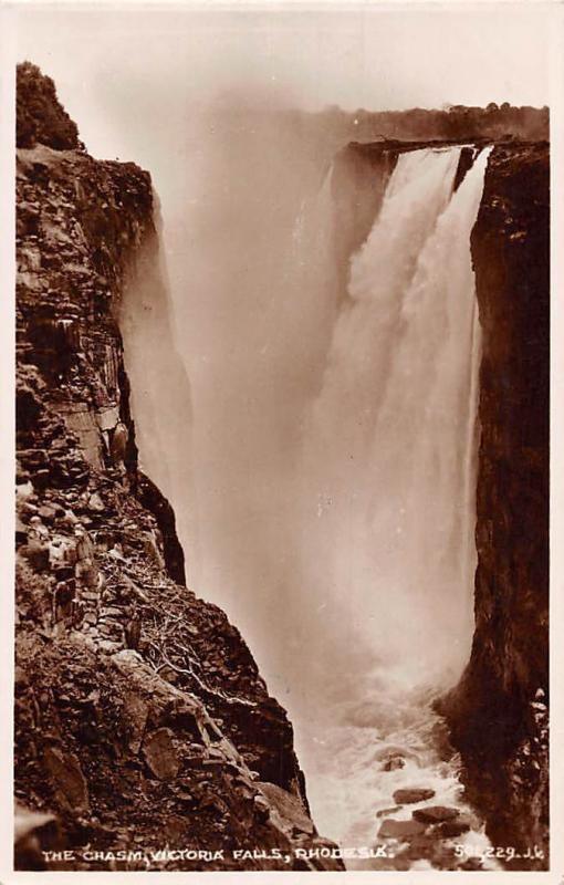 Zimbabwe Rhodesia The Chasm, Victoria Falls 1931