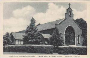 Virginia Bristow Immaculate Conception Chapel Linton Hall Miltary School Albe...