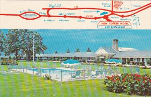 WELDON, North Carolina, PU-1979; New Yorker Motel and Restaurant, U.S. Route ...