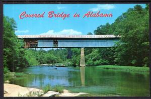 Covered Bridge Over Locust Fork,Black Warrior River,AL
