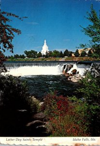 Idaho Idaho Falls Latter Day Saints Temple 1982