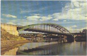 Sydney River Bridge, Cape Breton, Nova Scotia, Canada, Chrome