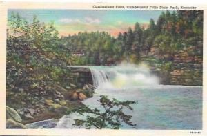 US Unused post card. Cumberland Falls State Park, Kentucky