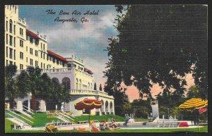 Bon Air Hotel & Pool Augusta Georgia Unused c1930s