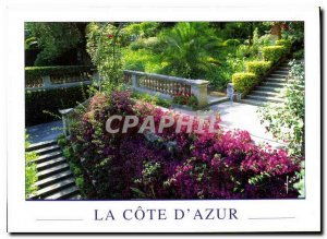 Postcard Modern Colors and light of France Gardens of the Riviera