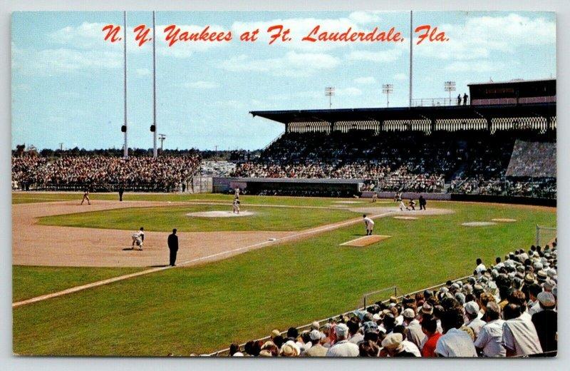 Ft Lauderdale FL~Spring Training~NY Yankees Baseball Stadium~Razed 2019~1962 PC